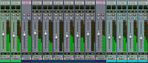 Protools mixer