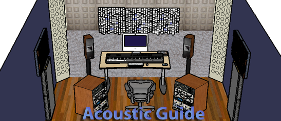 Acoustic guide for home studio