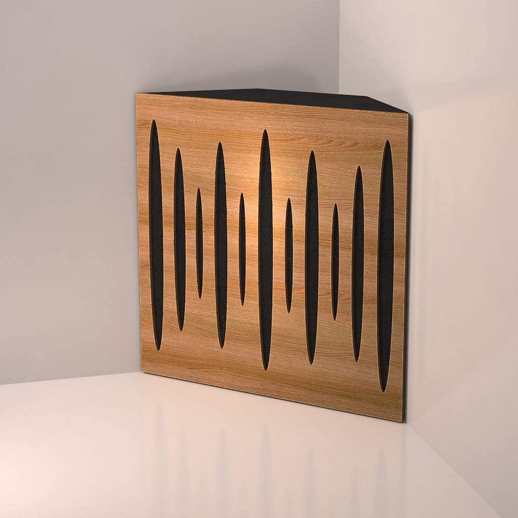 "Corner Bass Trap,""Pulse"" acoustic foam panel"