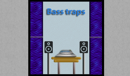 Bass traps for studios