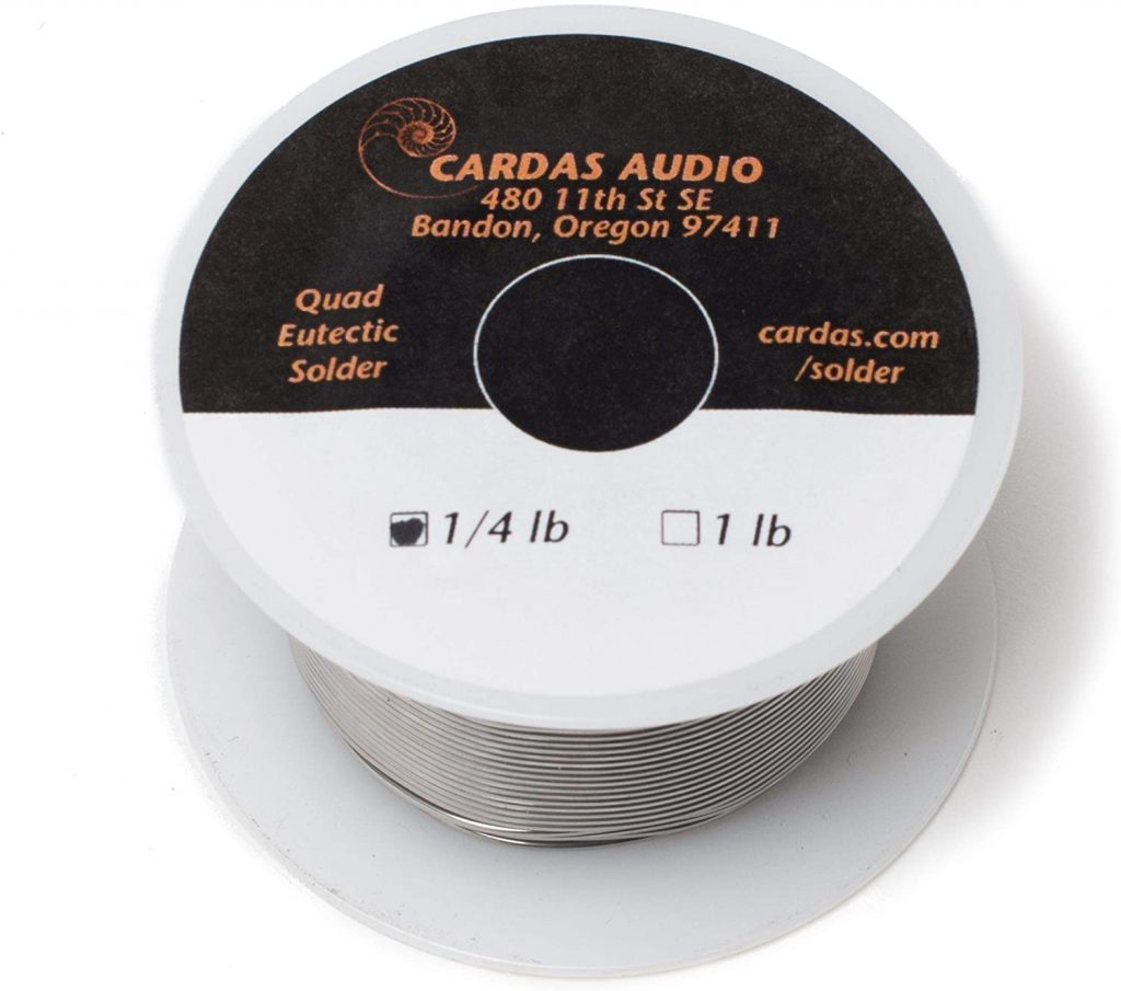 Cardas Soldering Wire Quad Eutectic Silver