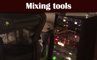 audio mixing gear