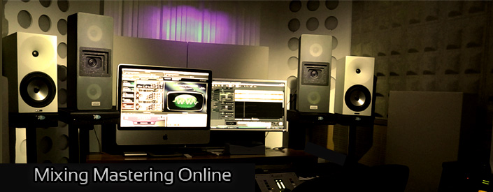 Online Mixing and Mastering Studio