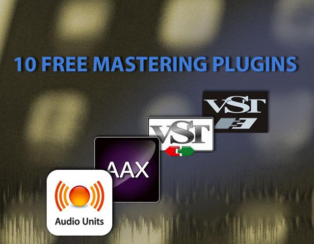 Free mastering plugins