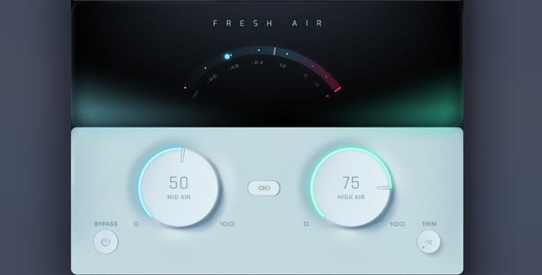 Slate Digital Fresh Air mastering tool